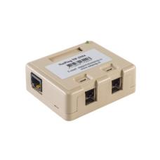 Неуправляемый мини коммутатор NP-SM4 питается по технологии POE